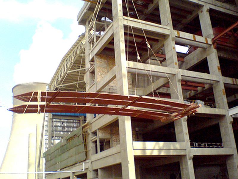 陕西蒲城电厂600MW机组安装工程
